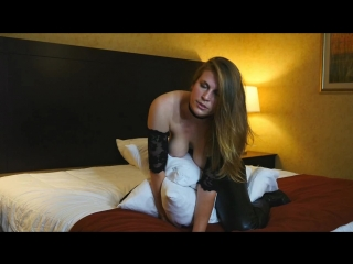 Xev B - Leather Pillow Humping HD