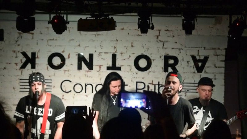 Poisonstars - Wicked Game,Rolling In The Deep (cover Him,Adele )(Kontora Grill Pub 26 мая Москва)