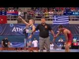 Победители чемпионата мира по греко-римской борьбе среди кадетов