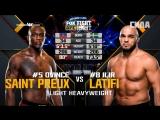 FIGHT NIGHT ORLANDO Ovince Saint Preuh vs Ilir Latifi