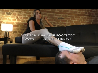 Morgan's Private Footstool - www.clips4sale.com/8983/18365499