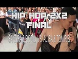 DA FRESHEST KIDS 2018 HIP HOP 2X2 FINAL SANDRA &amp ROMIL VS ALISA &amp TOMIRIS