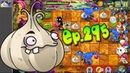 Plants vs. Zombies 2 || Garlic, Melon-pult Plants Level UP - Jurassic Marsh Day 3 (Ep.295)