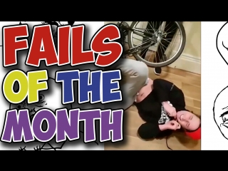 Best Fails of the Month - Stairs Biker (February 2018)
