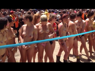 нудисты nudists Meredith Gift 2014 Ladies Heat 1
