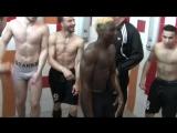 cris de la victoire, Asim - Roderen, dans les Vestiaires... avec le coach sous la douche !!!