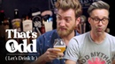 Rhett Link Taste a Beer Made with Human Saliva | That's Odd, Let's Drink It