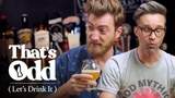 Rhett &amp Link Taste a Beer Made with Human Saliva That's Odd, Let's Drink It