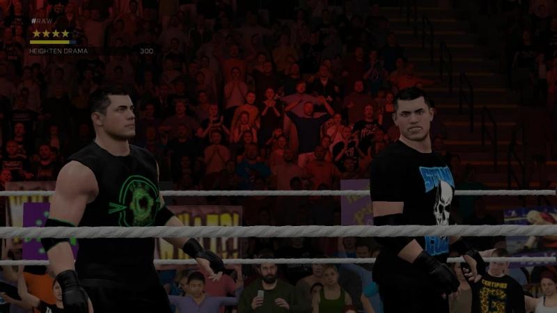 WWE2K17 Товарищеские бои с Евгенушкой.