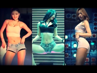 Топ-10 k-pop танцы sexy korean girls dance compilation