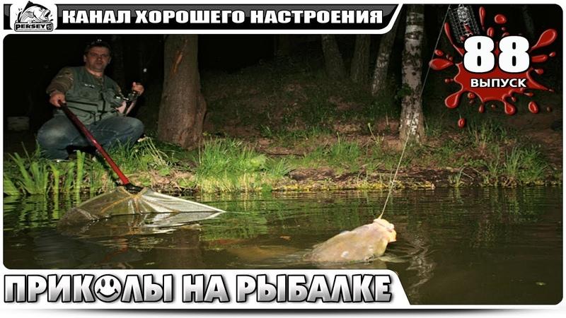ПРИКОЛЫ НА РЫБАЛКЕ 2018 Русская рыбалка и не только ловля карпа 88