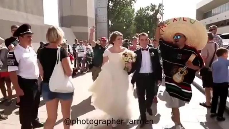 Мексиканцы на свадьбе
