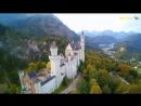 Neuschwanstein Castle 4K Fairytale Castle in Bavaria Schloss Neuschwanstein with a Drone