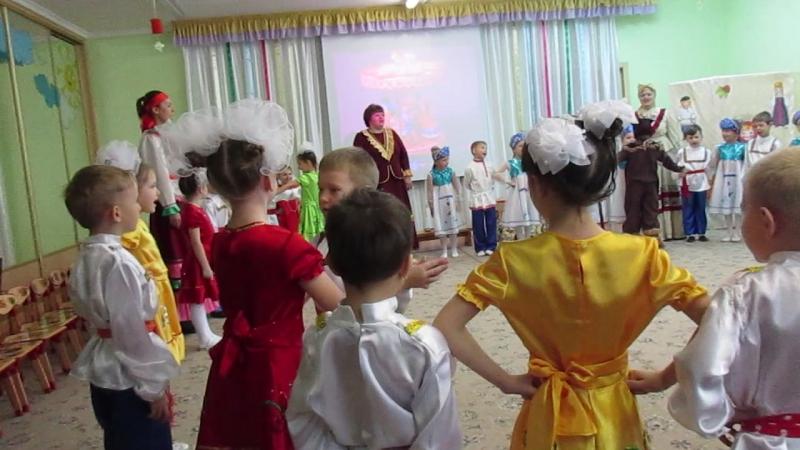 MVI 1504Мастер класс Русский сувенир в 95 детском саду г Омска