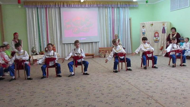 MVI 1530Мастер класс Русский сувенир в 95 детском саду г Омска