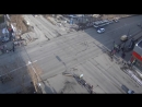 В Мурманске массовое ДТП около Детского мира
