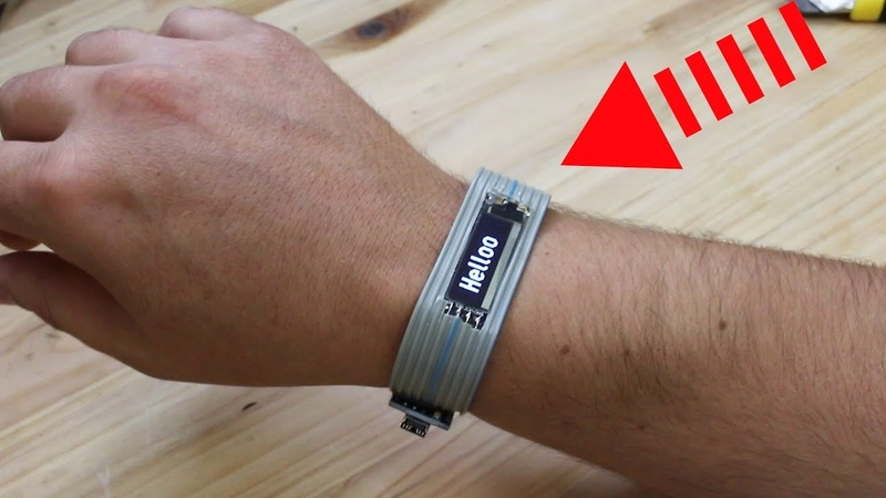 Wrist Gadget with Small Oled Screen