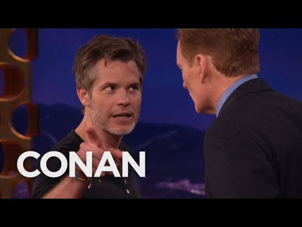 Timothy Olyphant's Masterclass On Stage Vs. Screen Acting - CONAN on TBS