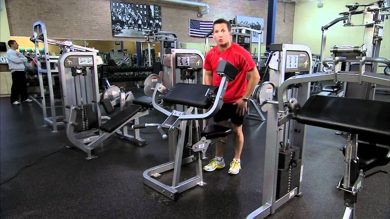 Life Fitness Pro2 Biceps Curl Instructions