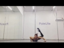 Exotic Pole Dance. Oksana Shine/