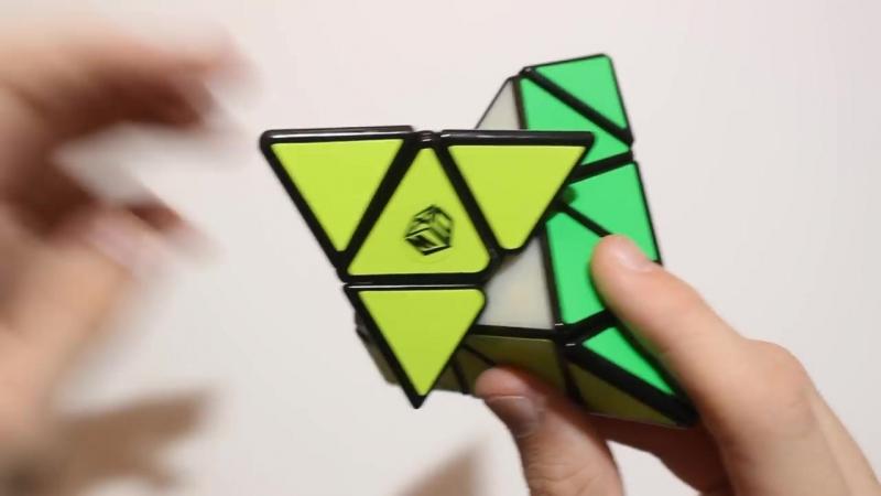 QiYi X-Man Magnetic Pyraminx обзор