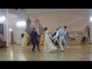 Краковянка - танец на акции ночь в музее И.Глазунова ТК Кадриль