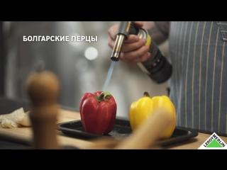Готовим салат с кальмарами и печеными перцами