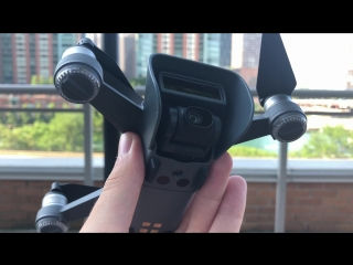 DJI Spark - защита камеры и подвеса от падений и солнца
