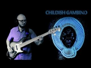 Childish Gambino - Redbone (bass cover)
