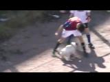 Георгий Черданцев комментирует дворовой матч в футбол