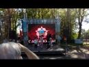 Мира поет на празднике Дня Победы. Свободный микрофон