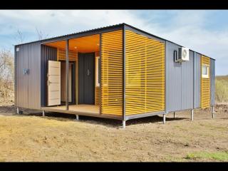 Модульный дачный дом 52.5м2 п.Любимовка