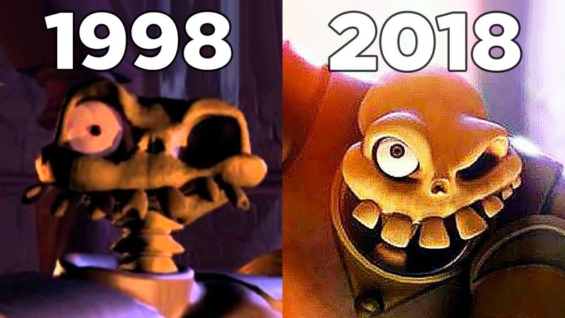 Evolution of MediEvil Games 1998-2018