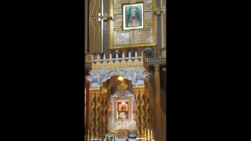 Оtwarcie Сudownego obrazu Matki Bożej Licheńskiej
