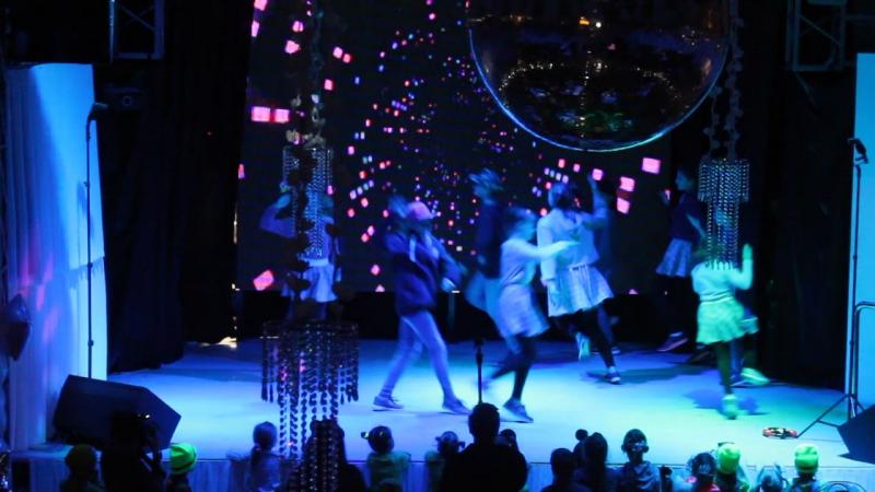 День рождения танцевальной студии Active Dance 4года Girly hip hop бурундушки