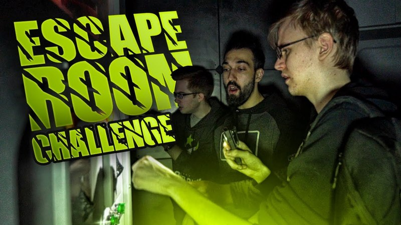 ESCAPE ROOM CHALLENGE - Houston Outlaws