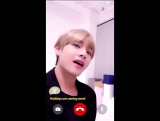 180117 A heart warming message of love sent by V @ Lotte Duty Free