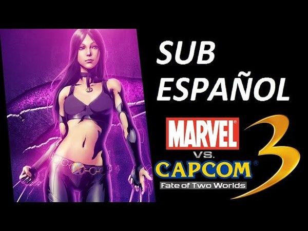 Marvel Vs Capcom 3 - X-23 Theme (Sub Español)