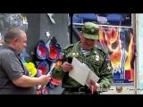 Торжественное мероприятие принятия присяги курсантами Общественного Военного Патриотического Движения «Молодая Гвардия Донбасса»