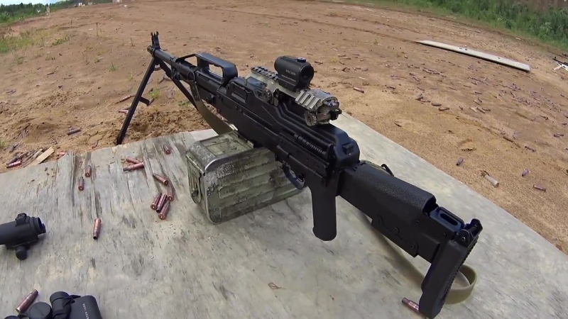 Пулемет Печенег против Holosun - LAZAREV TACTICAL