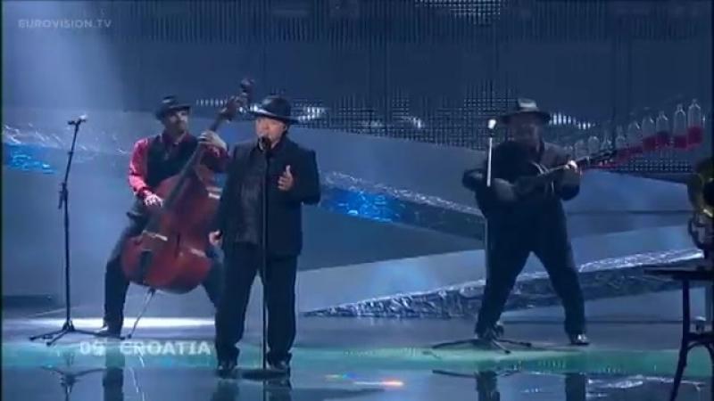 09 - Kraljevi Ulice 75 Cents - Romanca (Croatia) Live 2008 Eurovision Song Contest