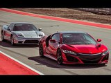New ACURA NSX VS Old HONDA NSX. Japanese SUPERCARS