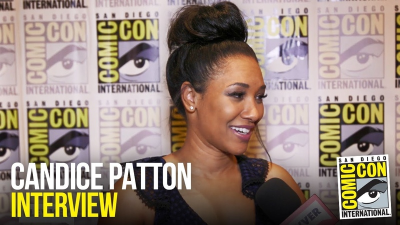 Candice Patton Gives Sneak Peek of The Flash Season 5 at Comic Con 2018