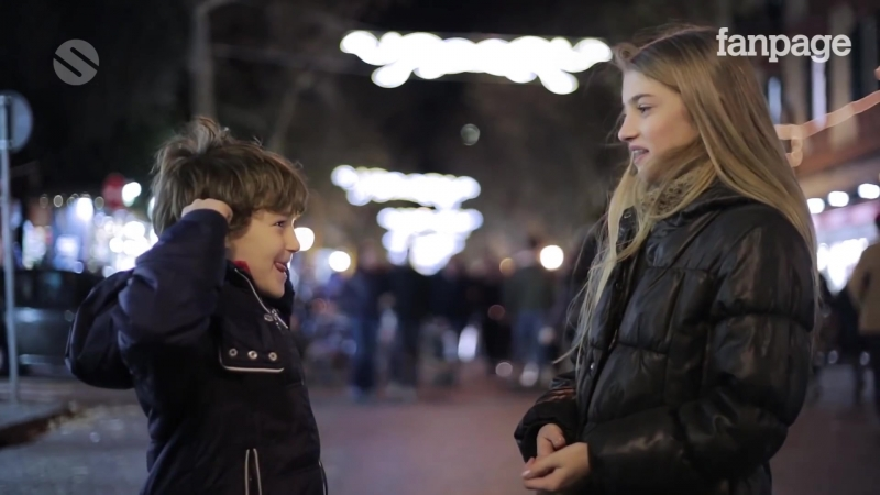 Slap her: children's reaction / Ударь её: реакция детей [2015, Италия] Русские и английские субтитры