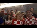 Президент Хорватии на русском языке поблагодарила Россию за ЧМ
