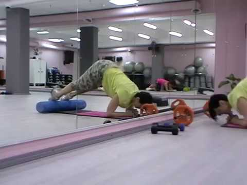 Миофасциальный релиз. Семинар SuperFitness/ Многофункциональное упражнение Пресс.