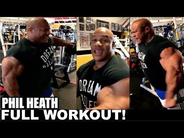 Phil Heaths Full Live Shoulder Workout!!