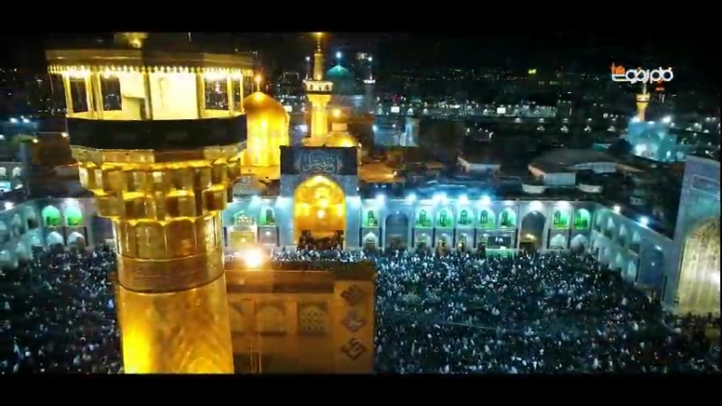 İmam Rzanın (ə) ziyarətgahında ikinci əhya gecəsi