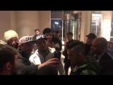 Болельщики встретили Хабиба в отеле