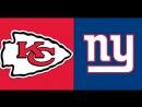 NFL 2017-2018  Week 11  19.11.2017  Kansas City Chiefs @ New York Giants